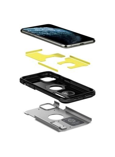Spigen iPhone 11 Pro Kılıf, Tough Armor XP Gümüş